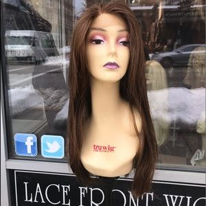 Accessories - Copper brown Freepart Fullcap Wig hair Blende 2019